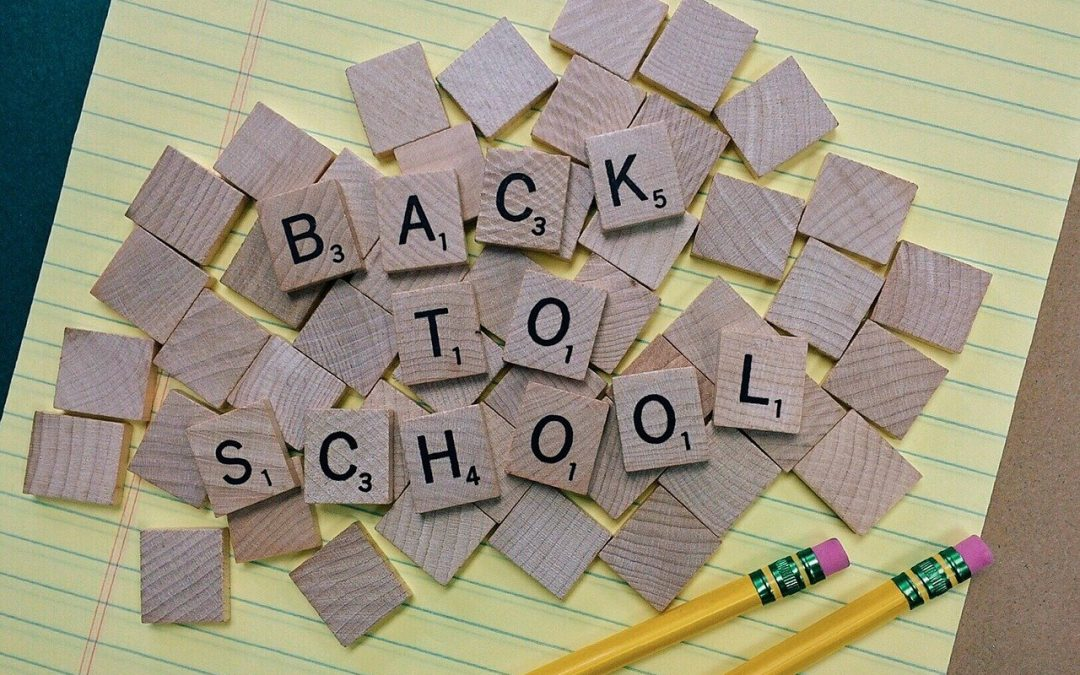 August is National Back to School Month